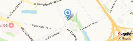 Главное Управление Пенсионного фонда РФ №5 г. Москвы и Московской области на карте Химок