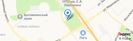 Бесплатный общественный туалет на карте Химок