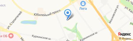 Средняя общеобразовательная школа №27 на карте Химок