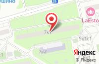 Схема проезда до компании Топ-Маш в Москве
