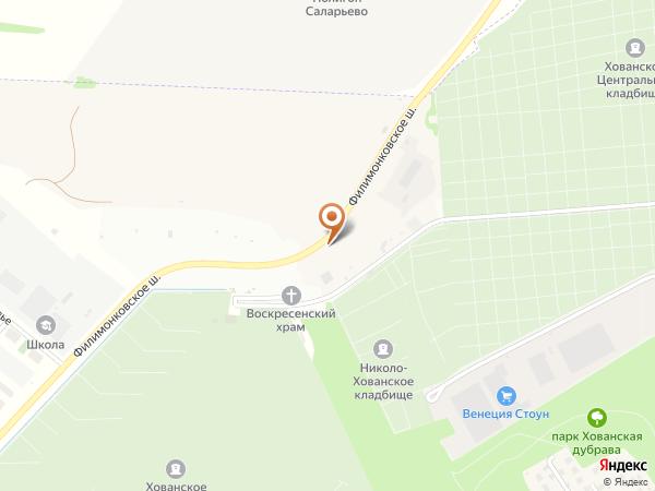 Остановка «Хованское (Западное) кладб.», Проектируемый проезд № 7038 (1008836) (Москва)