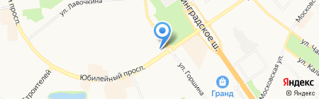 Япоша на карте Химок