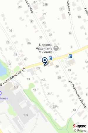 СЕРВИСНАЯ ФИРМА ЛОБНЕНСКИЙ АВТОДОР на карте Лобни