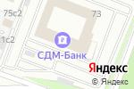 Схема проезда до компании Современные евроокна в Москве