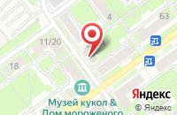 Схема проезда до компании Банк ВТБ в Серпухове