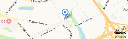 Панфилово на карте Химок