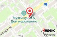 Схема проезда до компании Промсвязьбанк в Серпухове