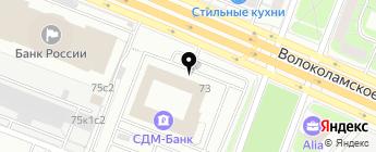 Ревизор Авто на карте Москвы