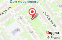 Схема проезда до компании Двина-Ока в Серпухове