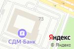 Схема проезда до компании BT-ONE в Москве