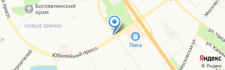Первая полоса на карте Химок