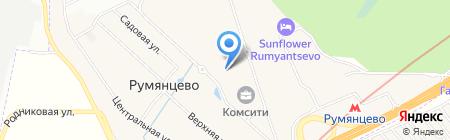 Comsity на карте Москвы