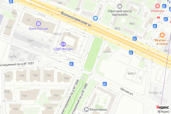 Ремонт телевизоров Волоколамский проезд на яндекс карте