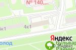 Схема проезда до компании ИНСПАЙТ в Москве