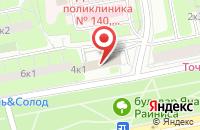 Схема проезда до компании Арг в Москве