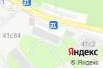 Схема проезда до компании Броск в Москве