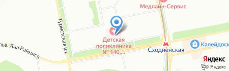 Травмпункт на карте Москвы