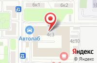 Схема проезда до компании Вэй Консорциум Развитие в Москве