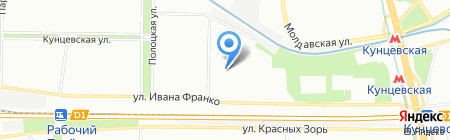 Лотос на карте Москвы