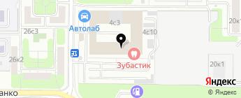 Laitovo на карте Москвы