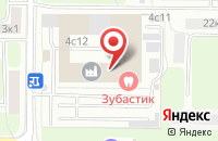 Схема проезда до компании Стерео-Граффити в Москве
