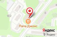 Схема проезда до компании Архитектурно-Строительное Объединение «Русский Дом» в Москве