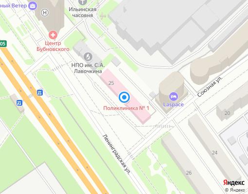 Управляющая компания «ДЕНИЗ» на карте Химок