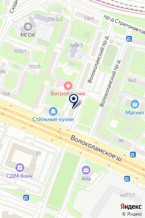 СТРОИТЕЛЬНАЯ КОМПАНИЯ АГАТ+ на карте Волоколамска