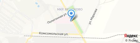 Чеховская районная больница №2 на карте Чехова