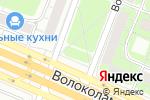 Схема проезда до компании Лепной декор в Москве