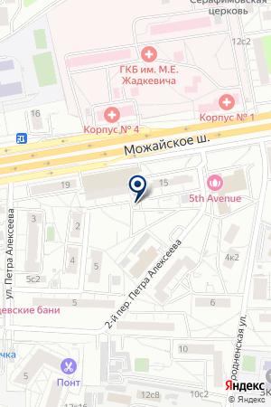 АВТОЦЕНТР ДЕЛЛСОН на карте Можайска