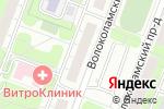 Схема проезда до компании Адвокат Данилов Р.С в Москве