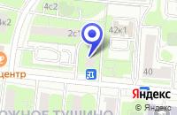 Схема проезда до компании ТФ ЭП ЦЕНТР в Москве