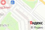 Схема проезда до компании CifraTech в Москве