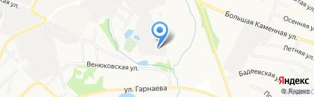 Чеховское ремонтно-техническое предприятие на карте Чехова