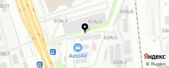 AvtoAll на карте Москвы