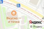 Схема проезда до компании Срочное фото на ул. Героев Панфиловцев в Москве