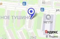 Схема проезда до компании ТФ АКОЛОР в Москве