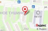 Схема проезда до компании Профессиональный Союз Строителей в Москве