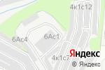 Схема проезда до компании Интел-Строй в Москве