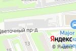 Схема проезда до компании Студия витража Светланы Михайловой в Москве
