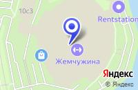 Схема проезда до компании ДЮСШОР в Москве