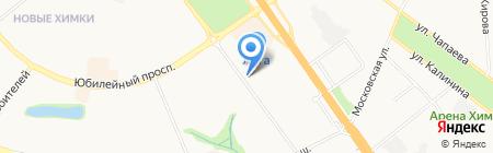 АТЭКО на карте Химок