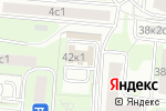 Схема проезда до компании Альфа Текстиль в Москве