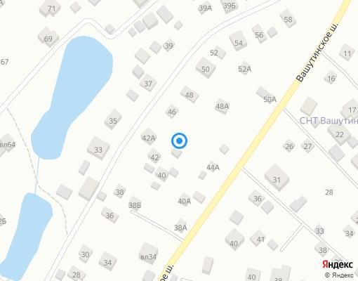 Товарищество собственников жилья «Серебряные родники» на карте Химок