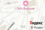 Схема проезда до компании Киоск по продаже фруктов и овощей на Можайском шоссе в Москве
