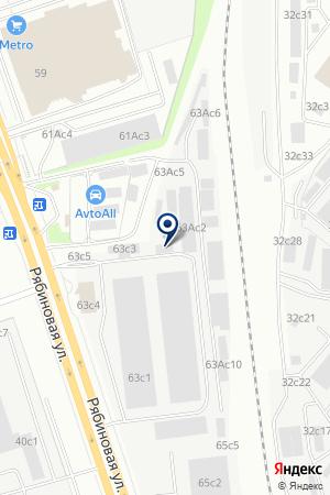 АРЕНДНОЕ ПРЕДПРИЯТИЕ БАЛТСТРОЙМЕХАНИЗАЦИЯ-М на карте Новой