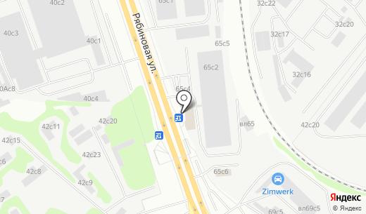 Формекс. Схема проезда в Москве