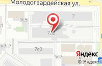 Схема проезда до компании Овк-Инвест в Москве