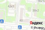 Схема проезда до компании Цветочки в Москве